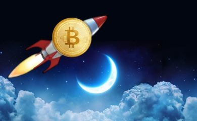 Bitcoin-the-moon